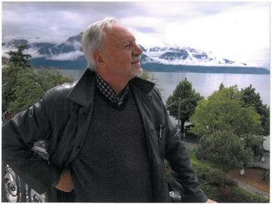 Desde la terraza de nuestra habitación, dando al lago Leman.